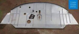 Plancher cabine avant Combi T1