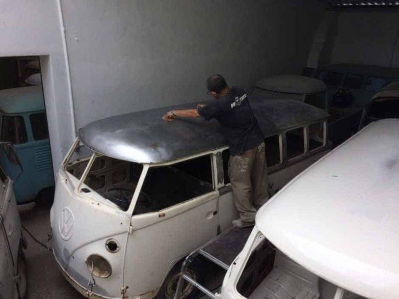 (En cours) Restauration d'un Combi T1 Deluxe Camper de 1975 au Brésil - C002