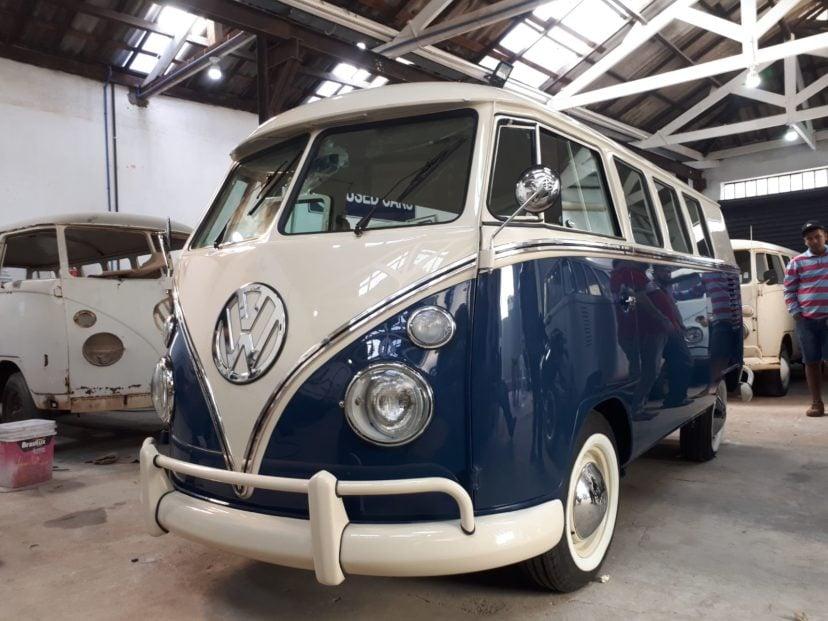 Restoration - T1 Bus Camper Deluxe - Brazil 1975 - Ref. C001